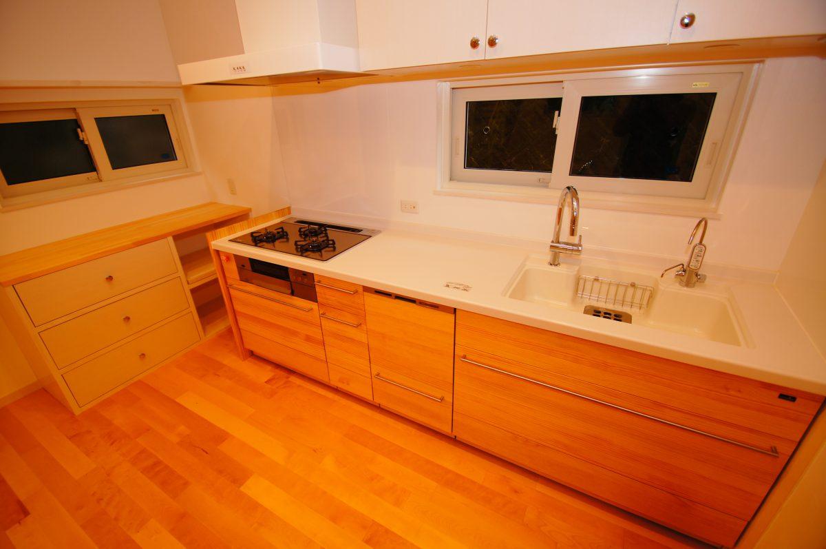施工事例:開放感のある二世帯住宅~絆の家~