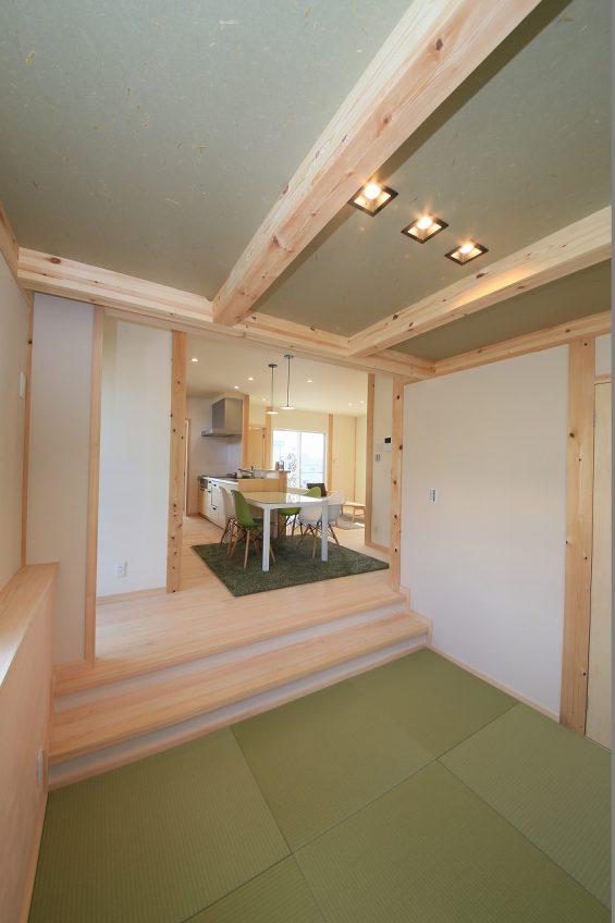 施工事例:冒険心をくすぐる五層構造の家