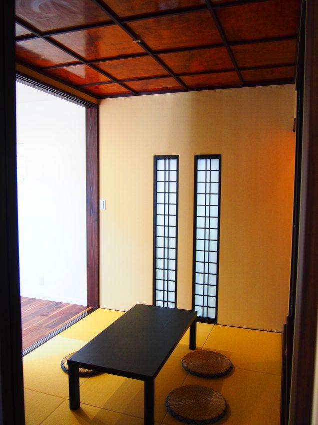 施工事例:古材利用のハイカラ和室 素材にこだわった家造り