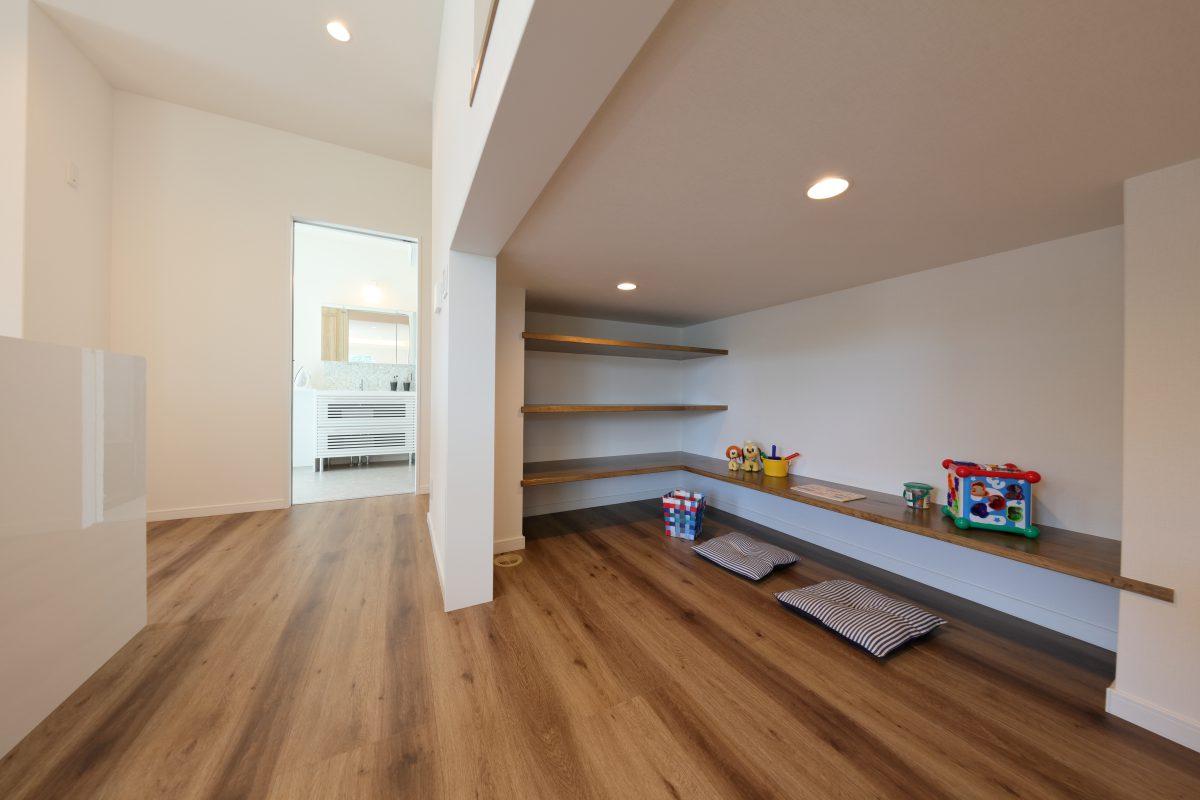 施工事例:KURA収納のある28坪の平屋
