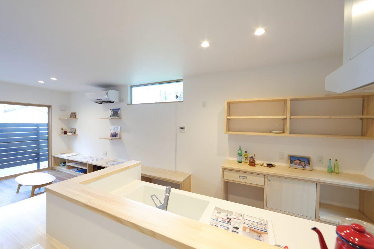 施工事例:KURA・中二階和室の多層空間