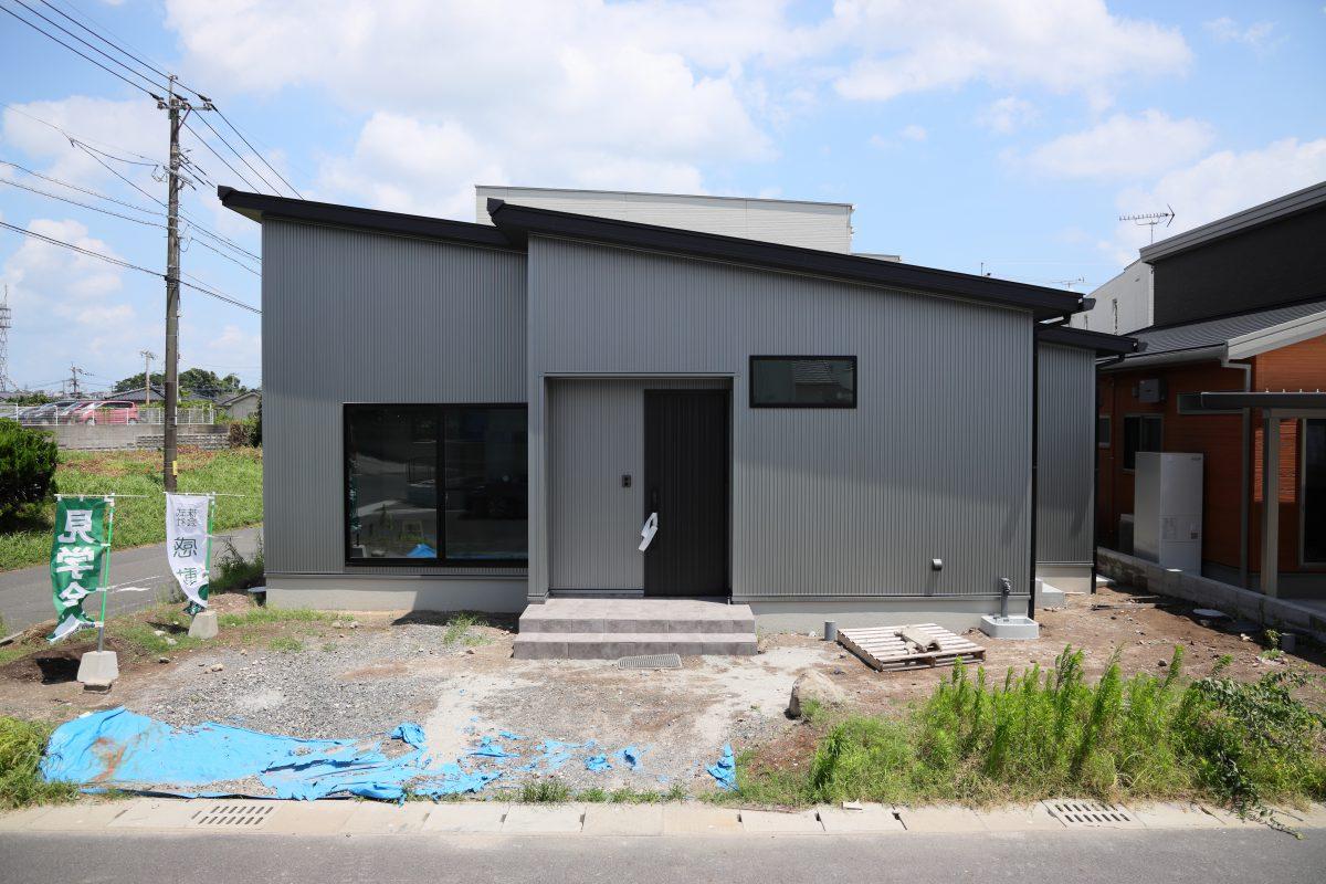 施工事例:暮らしやすいシンプル機能の平屋住宅