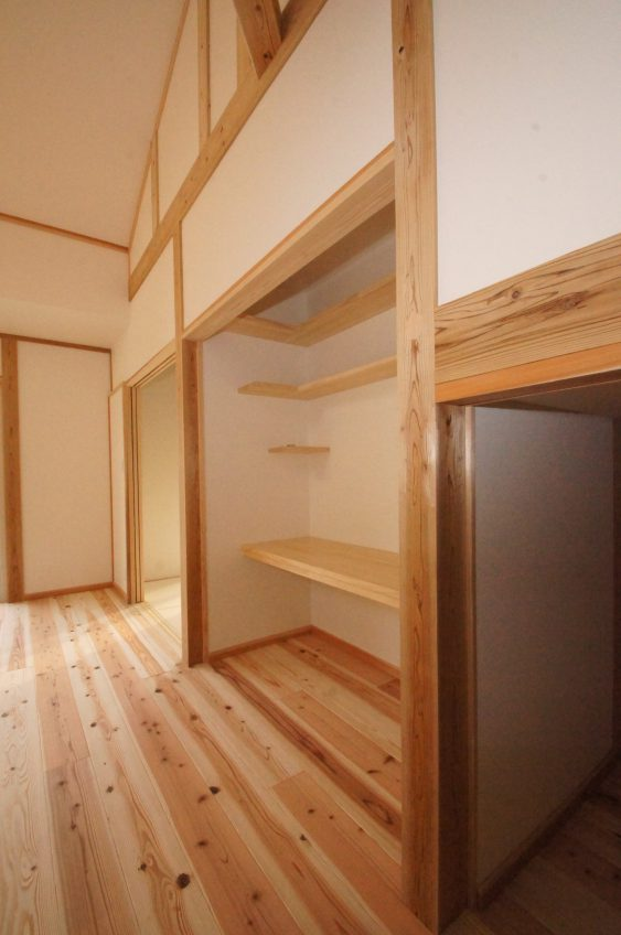 施工事例:収納たっぷり 子育て世代の賢い家造り