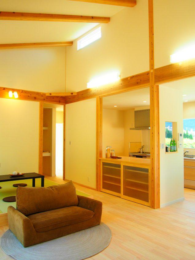 施工事例:家事動線を考えた 28坪の平屋