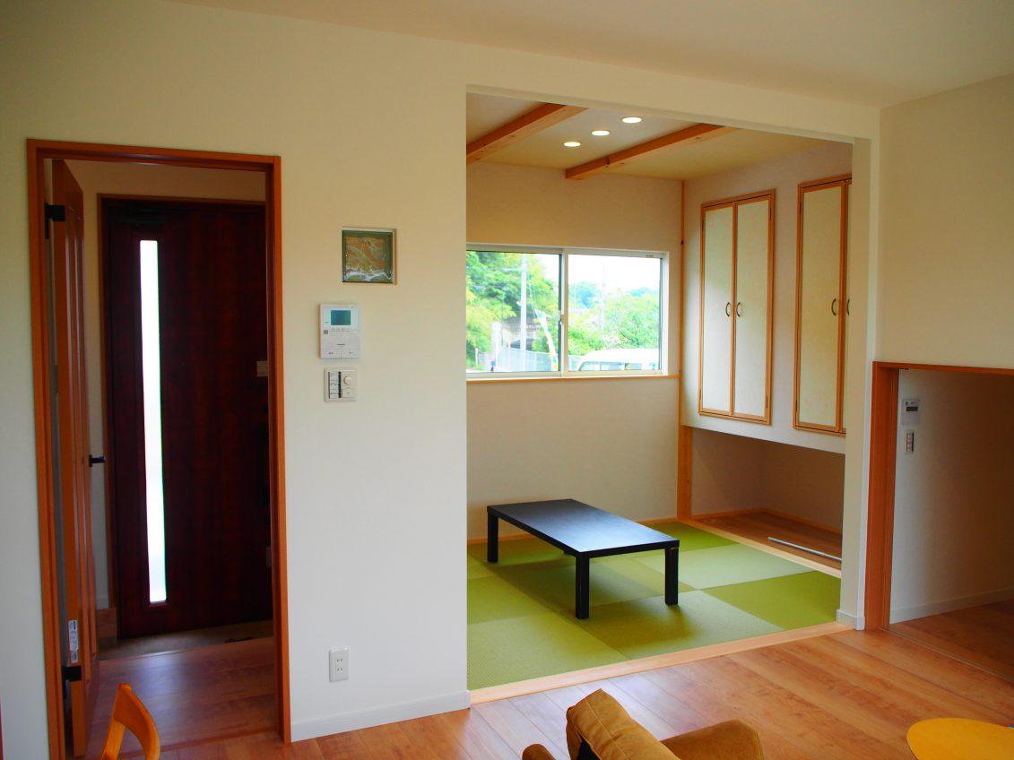 施工事例:和室つづきのリビングがあるお家
