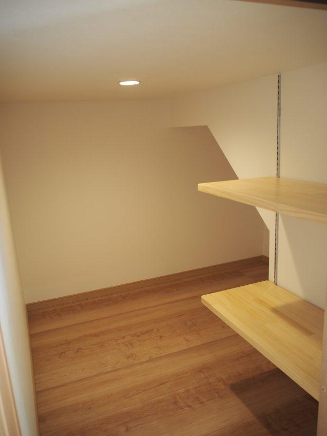 施工事例:KURA収納が2つあるお家
