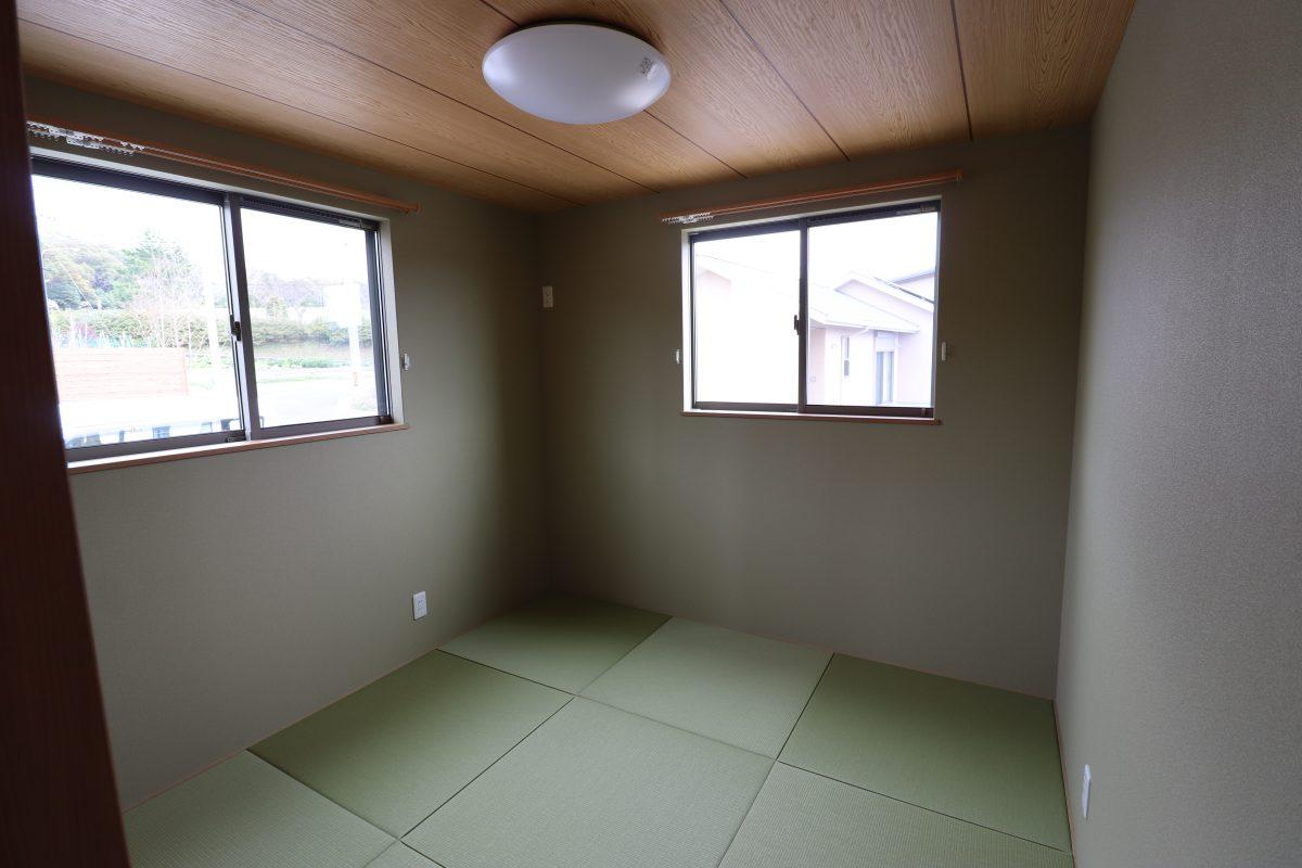 施工事例:ロフト、書斎のある平屋