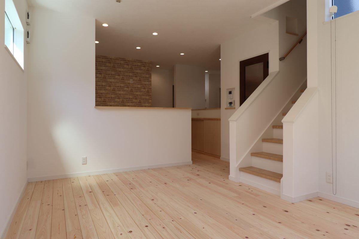 施工事例:家族共有のカウンタースペースのあるお家