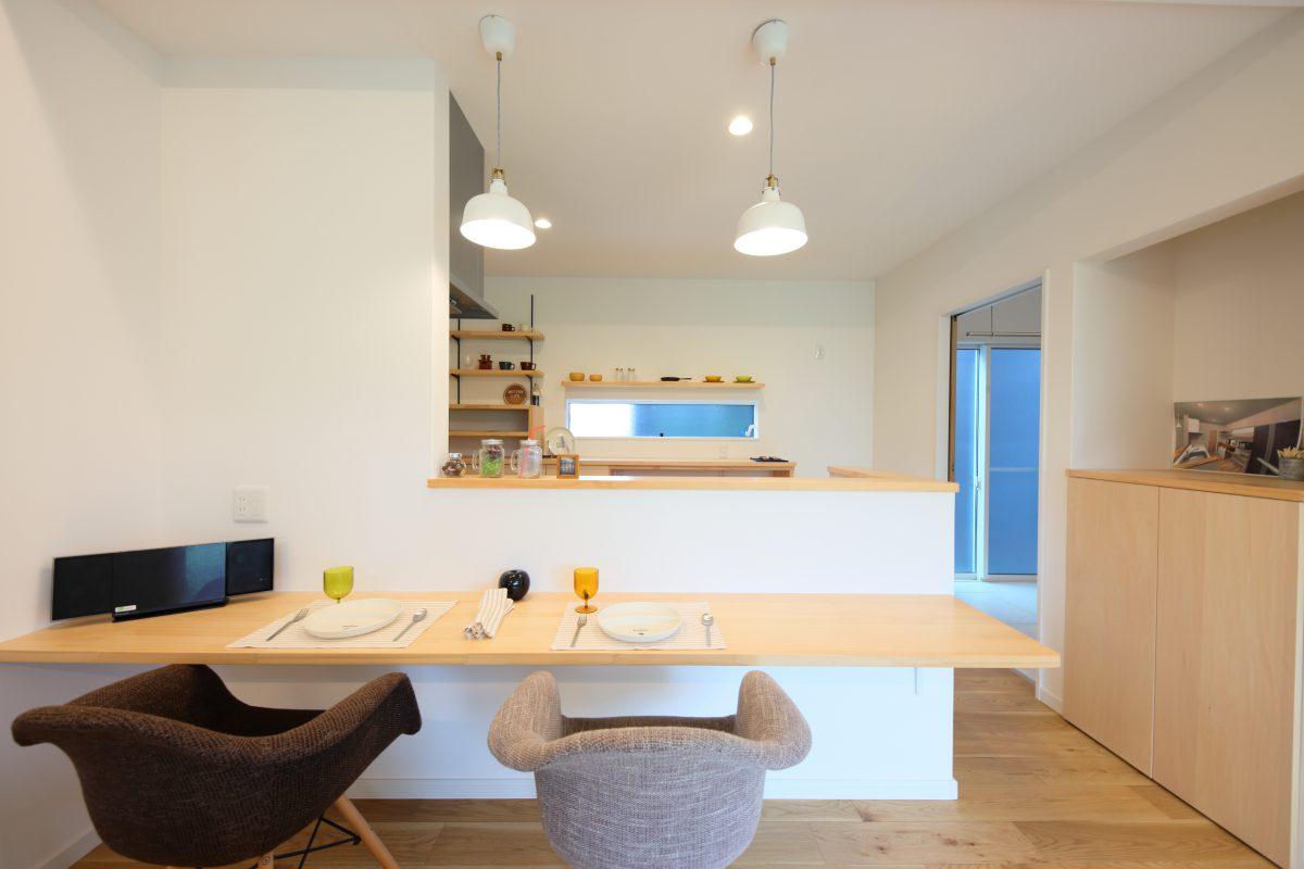 施工事例:敷地57坪でも、創意工夫で平屋の暮らし
