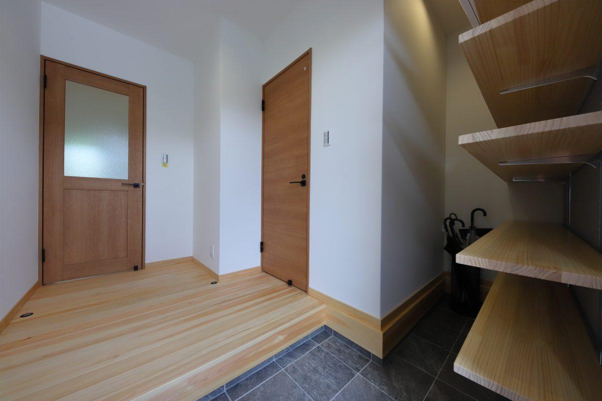 施工事例:半地下和室のあるお家