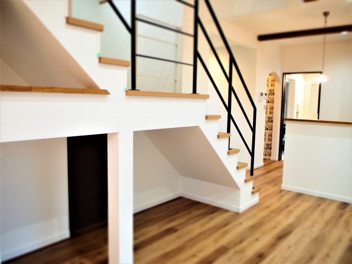 施工事例:中2階に書斎のあるお家