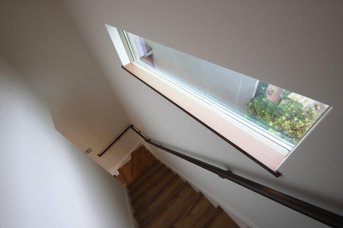 施工事例:天窓のある3LDKの2階建て