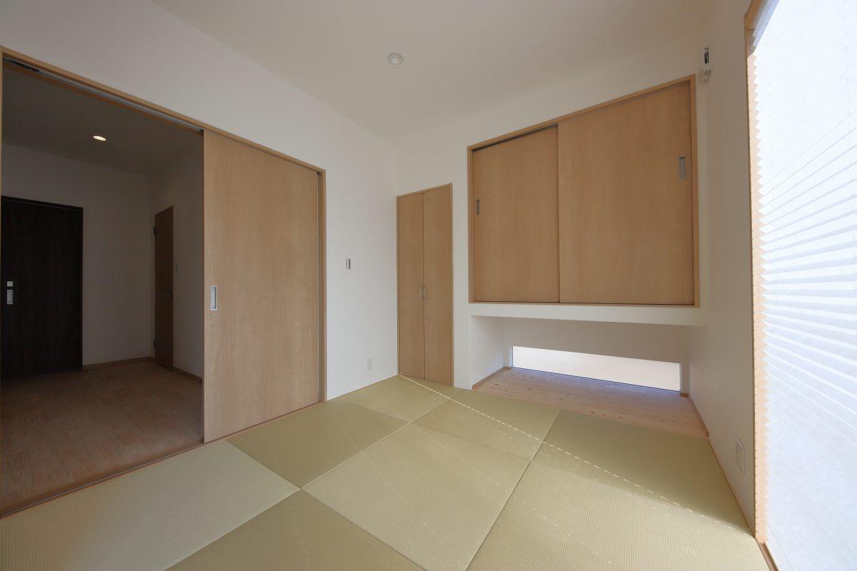 施工事例:5.3帖のゆったり収納ができるロフトのある平屋