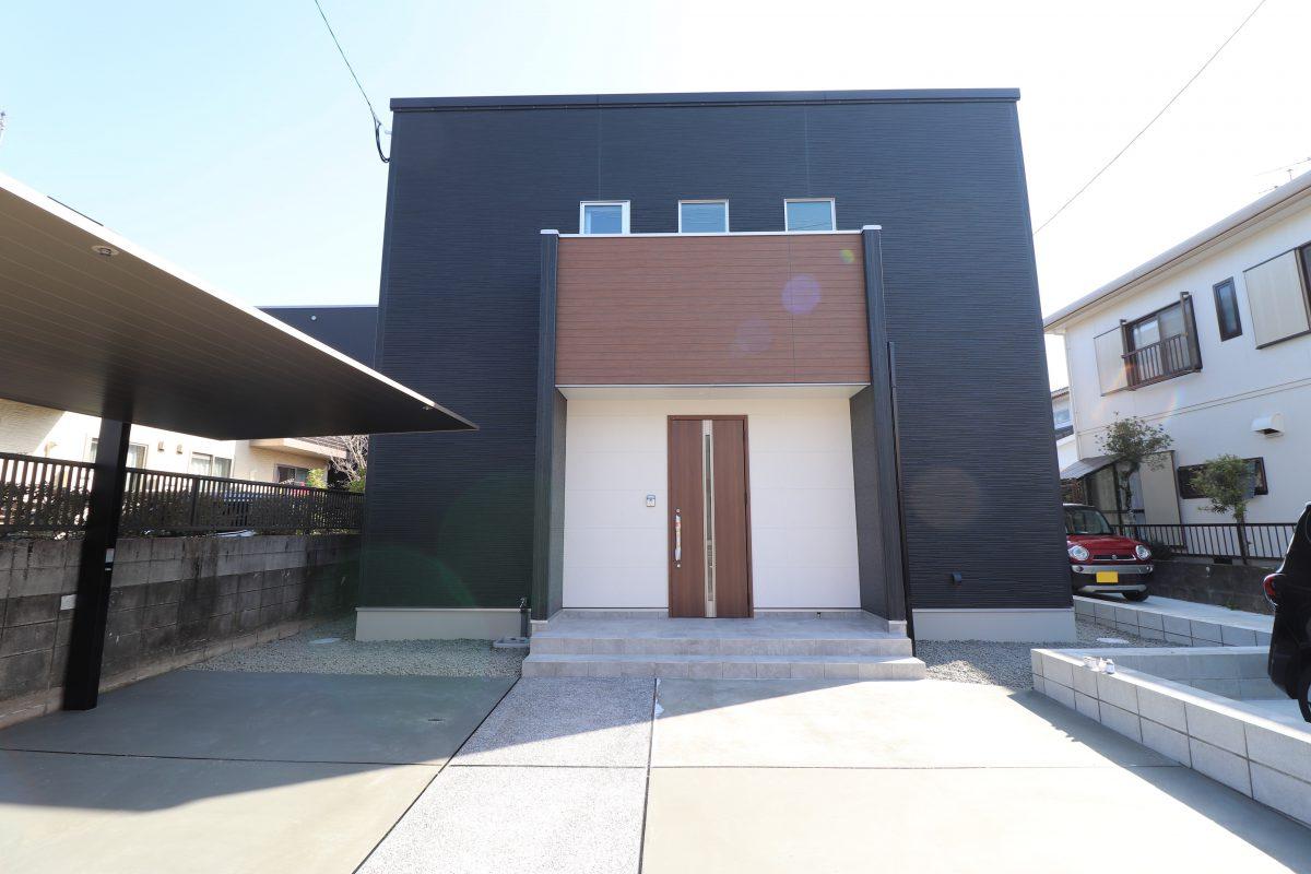 施工事例:玄関とLDKが繋がっている3LDKのお家