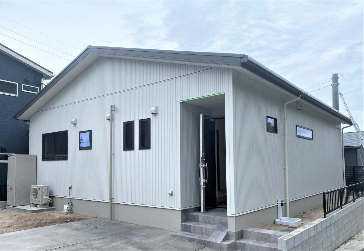 施工事例:コンパクトな24坪4LDKの平屋