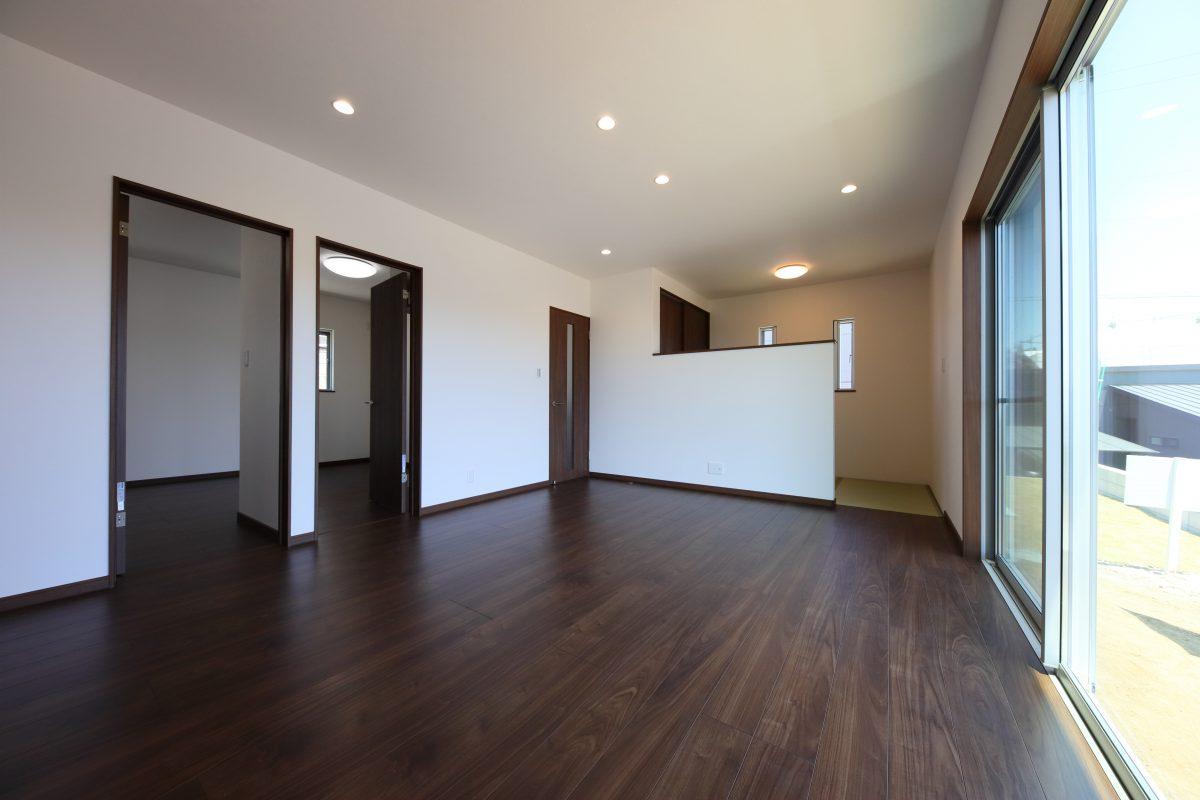 施工事例:桜島を望む!25坪の平屋