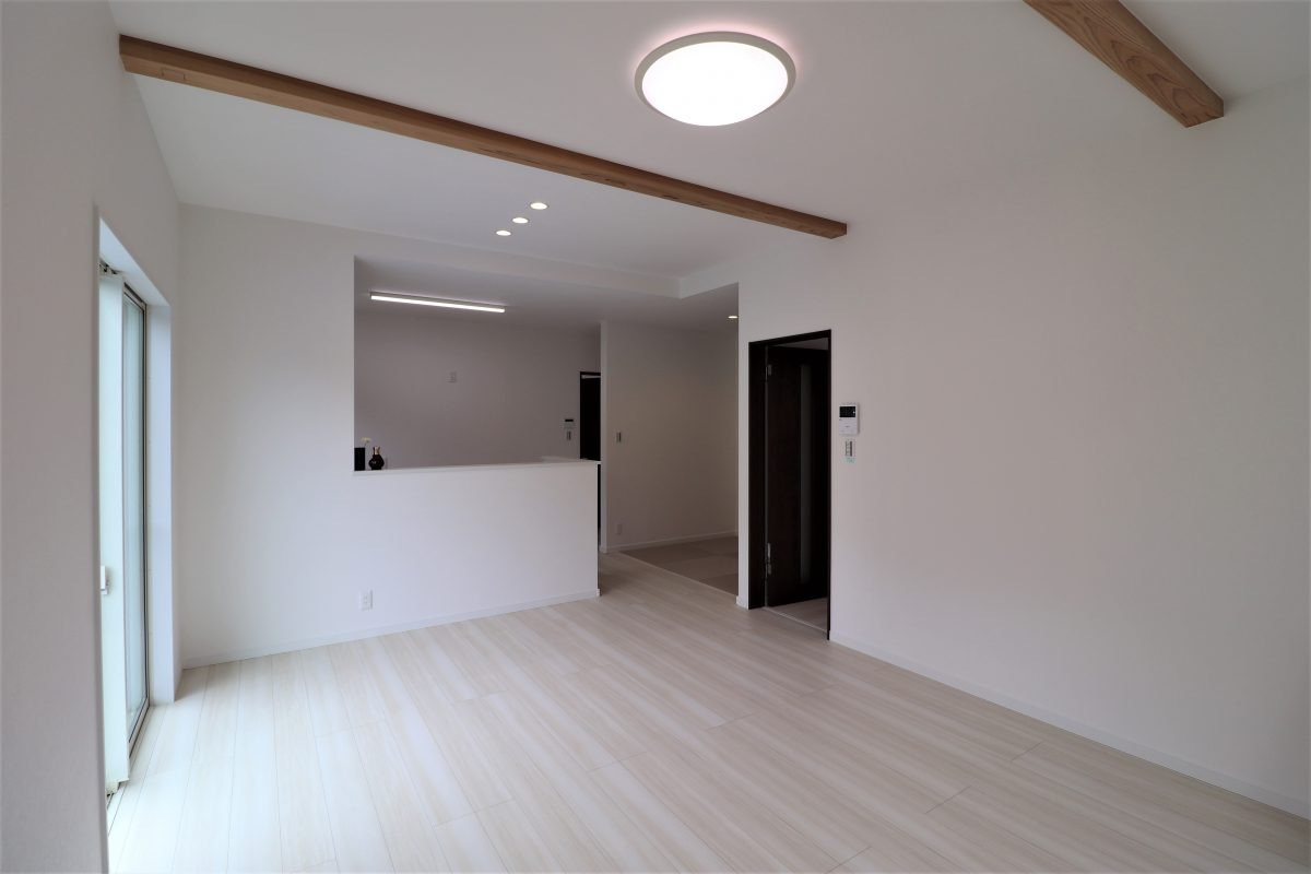 施工事例:和のスペースを中心に回遊できる生活しやすい平屋の住まい